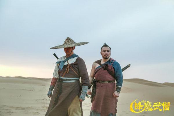 降魔武僧今日上线史无前例的佛魔大战中国式英雄联盟横空出世